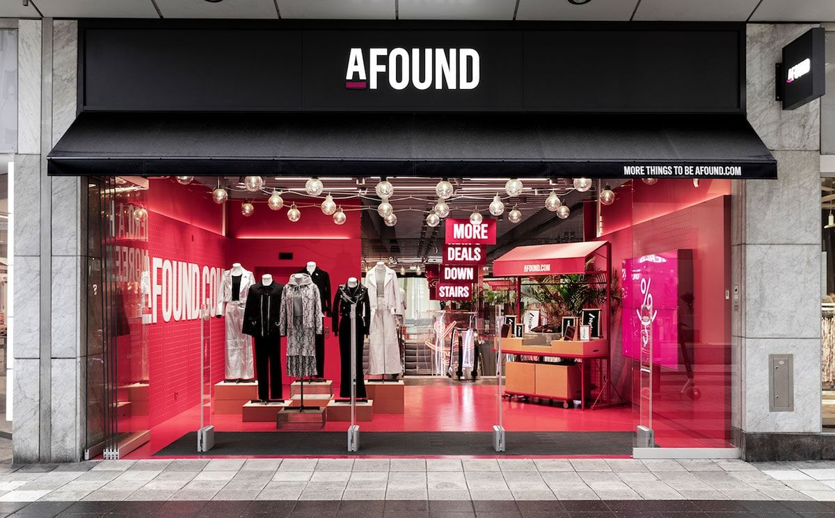 The First Afound Store Is Open in Holland