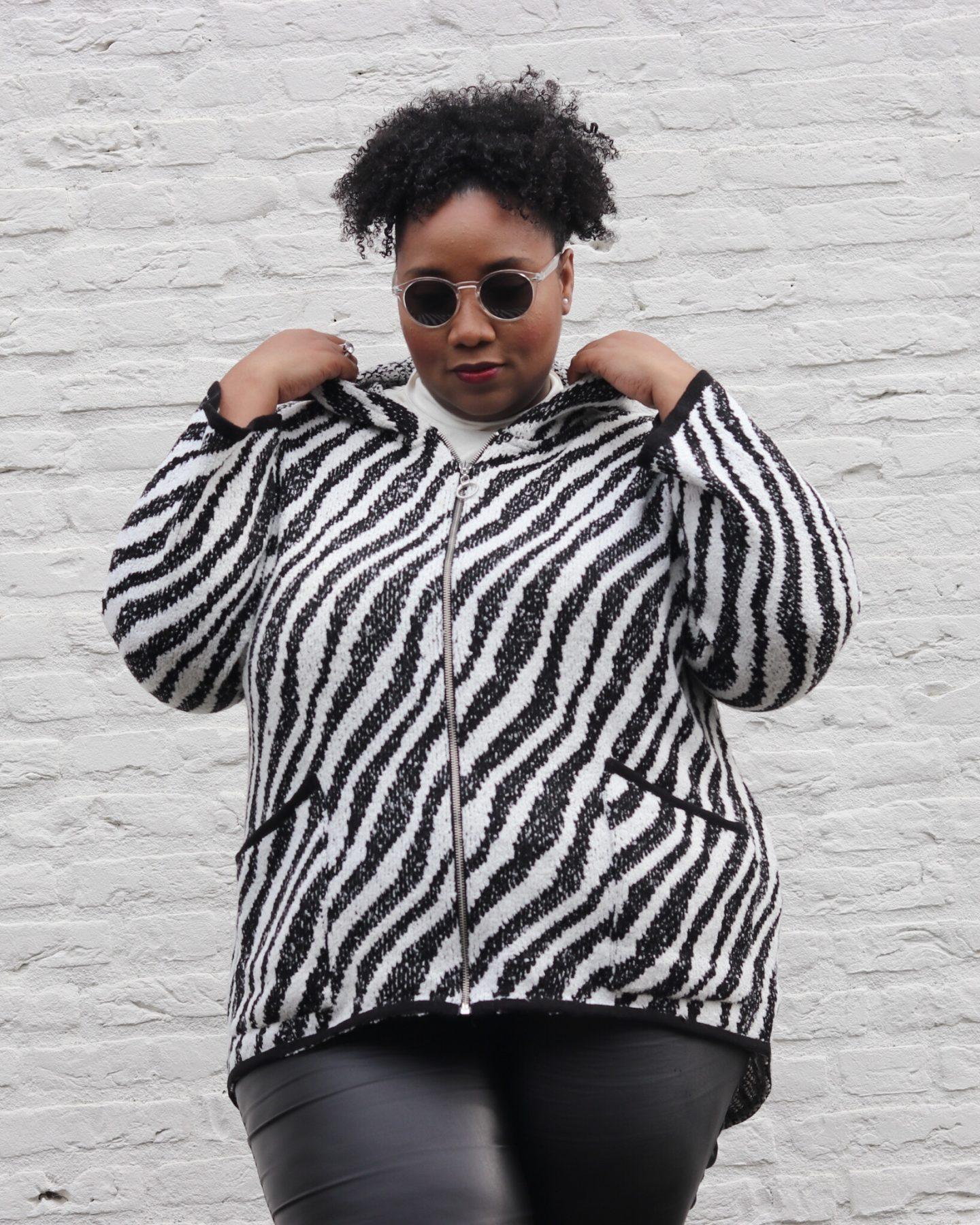 Plus-size Look|Zebra Fever