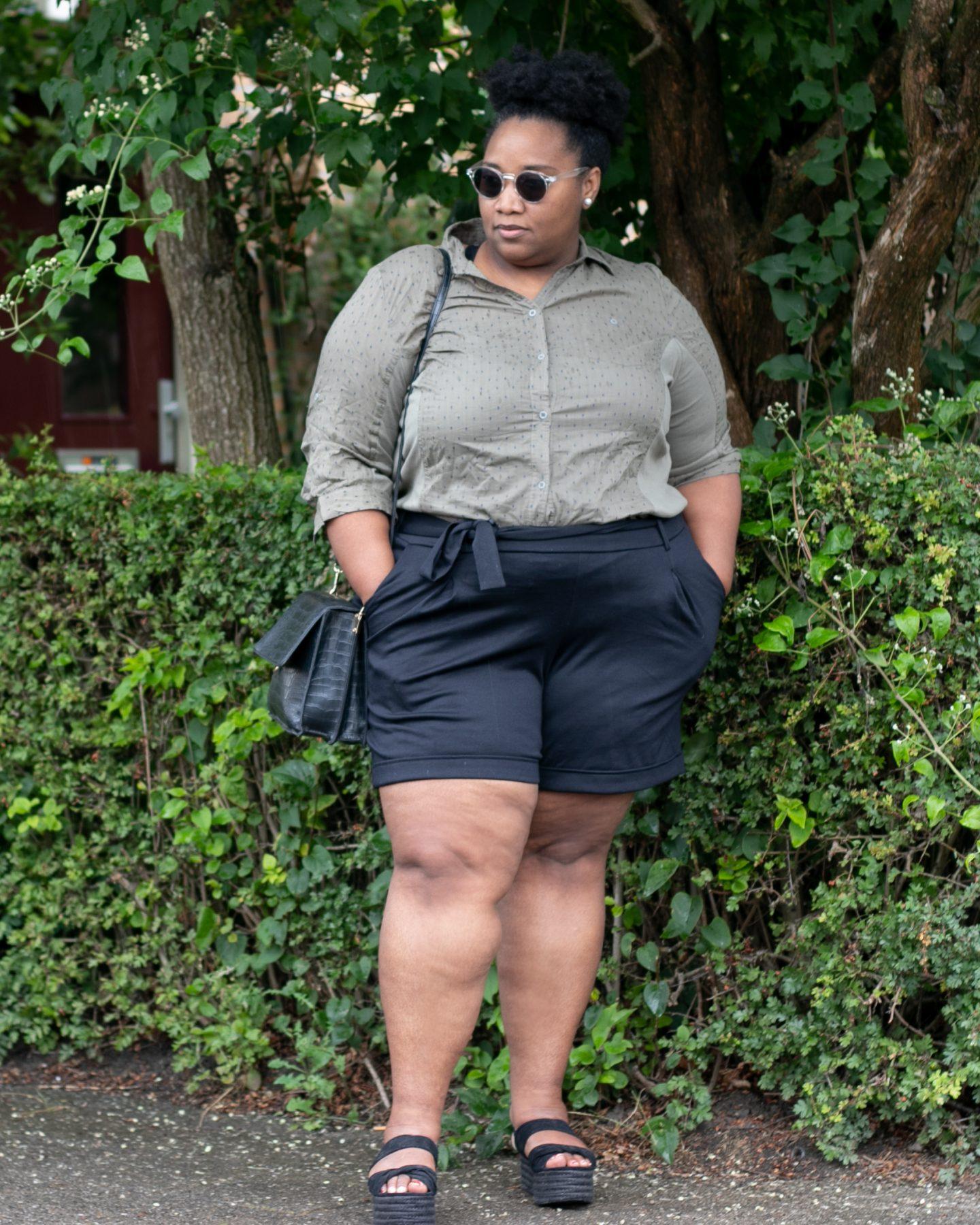 Het Grote Geheim Zo Draag Een Korte Broek Als Plus Size Vrouw