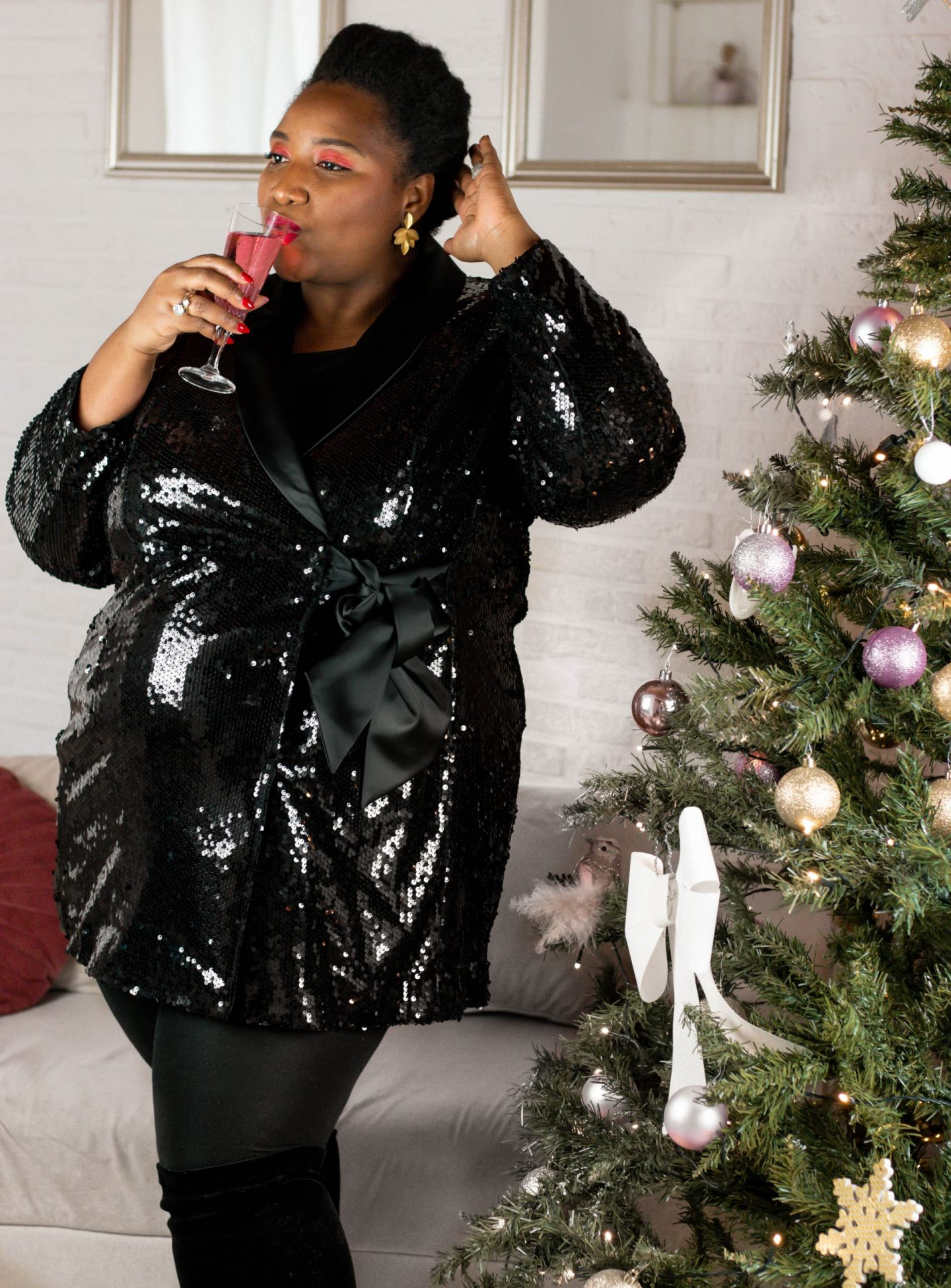 Glitters en pailletten voor de feestdagen